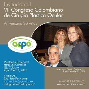 VII Congreso Colombiano de Cirugía Plástica Ocular