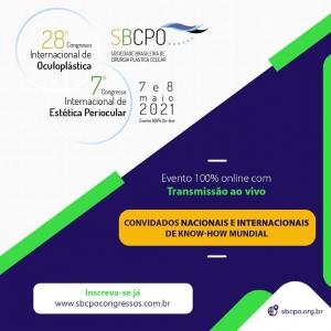 28º Congresso Internacional de Oculoplástica e 7º Congresso Internacional de Estética Periocular